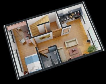 3d plattegrond van uw woning voor een betaalbare prijs for 3d programma huis ontwerpen